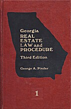 Georgia Real Estate Law and Procedure, with…