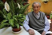 Author photo. Ramón Valdiosera Berman (Ozuluama, Veracruz, el 28 de abril de 1918) 97 years old