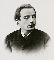 Author photo. Image from <b><i>English Studies</i></b> (1896) by James Darmesteter