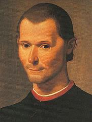 Author photo. Santi di Tito's portrait of Niccolò Machiavelli, cropped.<br> Via <a href=&quot;http://commons.wikimedia.org/wiki/Image:Santi_di_Tito_-_Niccolo_Machiavelli%27s_portrait.jpg&quot;>Wikimedia Commons</a>