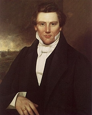 Author photo. From a painting done in 1842 artist unkown