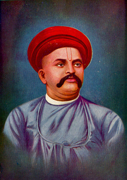 "Author photo. Vaman Shivram Apte. Distinguished Sanskrit Scholar. (Picture from <a href=""http://dsal.uchicago.edu/dictionaries/apte/frontmatter/frontmatter.html"" rel=""nofollow"" target=""_top""><i>Digital Dictionaries of South Asia</i></a>)"