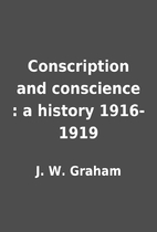 Conscription and conscience : a history…