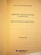 Visiones y Revelaciones compeltas by Anna…