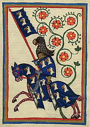 Author photo. Codex Manesse