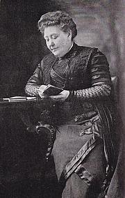 Author photo. Lady Matilda Ridout Edgar