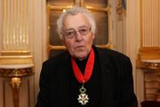 Author photo. Pierre Milza en 2013 à l'occasion d'une remise de médaille honorifique par le gouvernement français