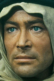 """Author photo. Peter O'Toole as T.E. Lawrence In Lawrence of Arabia, 1962 [source: Columbia Pictures extended 1962 trailer for """"Lawrence of Arabia""""]"""