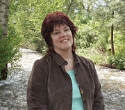 Author photo. photo of Jane S. Fancher by Sharon Reynolds at Miscon, Missoula MT, USA, 2009-05-24
