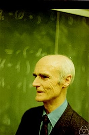 Author photo. H. S. M. Coxeter. Photo by Konrad Jacobs.
