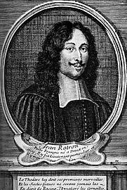 Author photo. Portrait of Jean Rotrou (1609-1650) from  Œuvres de Jean Rotrou (Paris : T. Desoer) 1820. Wikimedia Commons.