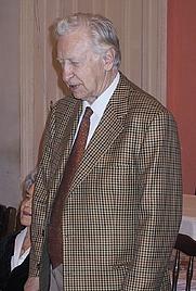 Author photo. Vasili Smyslov at the 80th birthday of Juri Averbakh