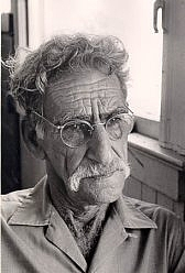 Author photo. George Oppen [credit: Michael West]