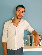 """Author photo. Justin Torres. Photo by Graham Plumb. Copied from the web site of <a href=""""http://www.granta.com/New-Writing/Interview-Justin-Torres"""" rel=""""nofollow"""" target=""""_top"""">Granta</a>"""