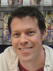 Author photo. JT Krul. Photo courtesy Pop Culture Geek.