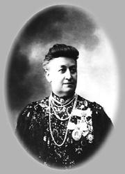 Author photo. Elizabeth A. Naryschkin. Im Jahr 1913. Foto von KK Bulla-Studio. Petersburg.