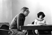 Author photo. Hagstrum (on left). Northwestern University