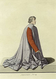 Author photo. &quot;By Piero della Francesca Vatican Gallery, Rome&quot;<br>Print published 1828<br>Courtesy of the <a href=&quot;http://digitalgallery.nypl.org/nypldigital/id?811007&quot;>NYPL Digital Gallery</a><br>(image use requires permission from the New York Public Library)