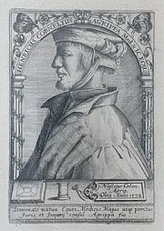 Author photo. Cornelius Agrippa, 1538.