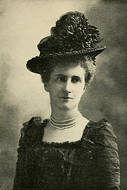 Author photo. Image from <b><i>Little pilgrimages among the women who have written famous books</i></b> (1902) by Edward Francis Harkins