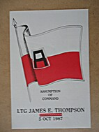 Assumption of Command LTG James E. Thompson,…