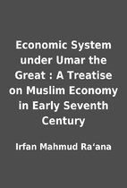 Economic System under Umar the Great : A…