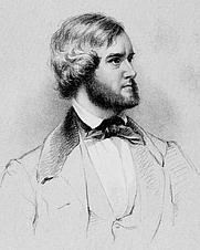 Author photo. Image from <b><i>Life of William T. Porter</i></b> (1860) by Francis Brinley
