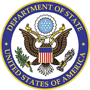 Author photo. United States Department of State seal