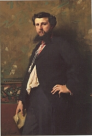 Author photo. John Singer Sargent (1856-1925)