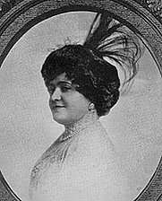 """Author photo. From """"Vocal Mastery,"""" by Harriette Brower, 1917 ~ Project Gutenberg (Cropped)"""