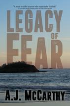 Legacy of Fear by A. J McCarthy