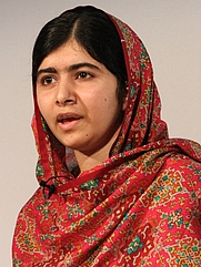 Author photo. Malala Yousafzai [By Russell Watkins/Department for International Development.]