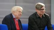 Author photo. Pavel Kohout und Jaroslav Rudiš stellen ihre Neuerscheinungen auf der Leipziger Buchmesse 2019 vor. Gastland ist dieses Jahr Tschechien. By Amrei-Marie - Own work, CC BY-SA 4.0, <a href=&quot;https://commons.wikimedia.org/w/index.php?curid=77529994&quot; rel=&quot;nofollow&quot; target=&quot;_top&quot;>https://commons.wikimedia.org/w/index.php?curid=77529994</a>