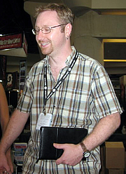 Author photo. San Diego Comic-Con 2007, by dave g