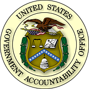 "Author photo. By U.S. Government - Extracted from PDF version of Volume 1 of the Exposure Draft GAO/PCIE Financial Audit Manual (direct PDF URL [1]), and colorized based on Image:US Government Accountability Office seal.gif. The eagle's head and tail feathers are now white, based on the GAO seal page (direct image of new version here)., Public Domain, <a href=""https://commons.wikimedia.org/w/index.php?curid=3764498"" rel=""nofollow"" target=""_top"">https://commons.wikimedia.org/w/index.php?curid=3764498</a>"