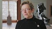Author photo. Hélène Pinet en 2014 en tant que responsable des collections de photographies du musée Rodin lors d'une présentation de l'exposition Mapplethorpe Rodin dont elle est commissaires.