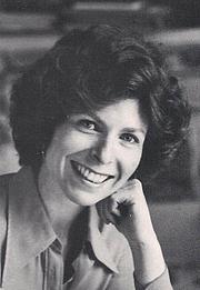Author photo. Susan Siegler circa 1976