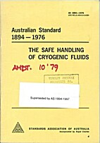 AS 1894 - 1976: The Safe Handling of…
