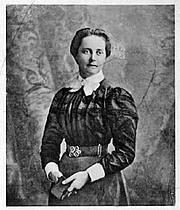 Author photo. From In The Far east; Letters of Geraldine Guinness; by Lucy Evangeline Guinness; Morgan & Scott; 1901