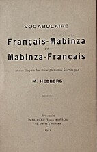 Vocabulaire français-mabinza et…