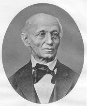 Author photo. Eduard Zeller (1814-1908)