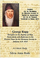 George Rapp Thoughts on the Destiny of Man :…