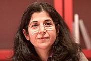 Author photo. La sociologue Fariba Adelkhah lors du Salon du livre de Paris pour un débat sur l'Iran avec l'auteur Vincent Hugeux autour de son essai Iran, l'état d'alerte. By Georges Seguin (Okki) - Own work, CC BY-SA 3.0, <a href=&quot;https://commons.wikimedia.org/w/index.php?curid=9900335&quot; rel=&quot;nofollow&quot; target=&quot;_top&quot;>https://commons.wikimedia.org/w/index.php?curid=9900335</a>