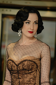 "Author photo. Dita Von Teese Cannes 2007 By Mireille Ampilhac - originally posted to Flickr as Cannes 2007, CC BY-SA 2.0, <a href=""https://commons.wikimedia.org/w/index.php?curid=8056830"" rel=""nofollow"" target=""_top"">https://commons.wikimedia.org/w/index.php?curid=8056830</a>"