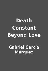death constant beyond love