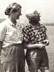 Author photo. Eric & Susan Hiscock, MBE