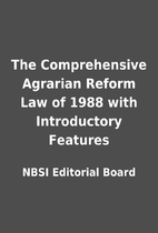 The Comprehensive Agrarian Reform Law of…