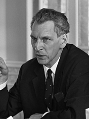 Author photo. Marius Flothuis, 1967 [credit: Jac. de Nijs / Anefo; source: Nationaal Archief; copied from Wikipedia]