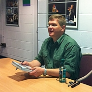 Author photo. Ray Mears signing his books at Keswick Mountain Festival, 21 May 2011. Taken by <a href=&quot;/profile/r.orrison&quot; rel=&quot;nofollow&quot; target=&quot;_top&quot;>Randy Orrison</a>.