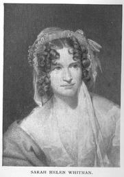 Author photo. Sarah Helen (Power) Whitman (1803-1878), Buffalo Electrotype and Engraving Co., Buffalo, N.Y.